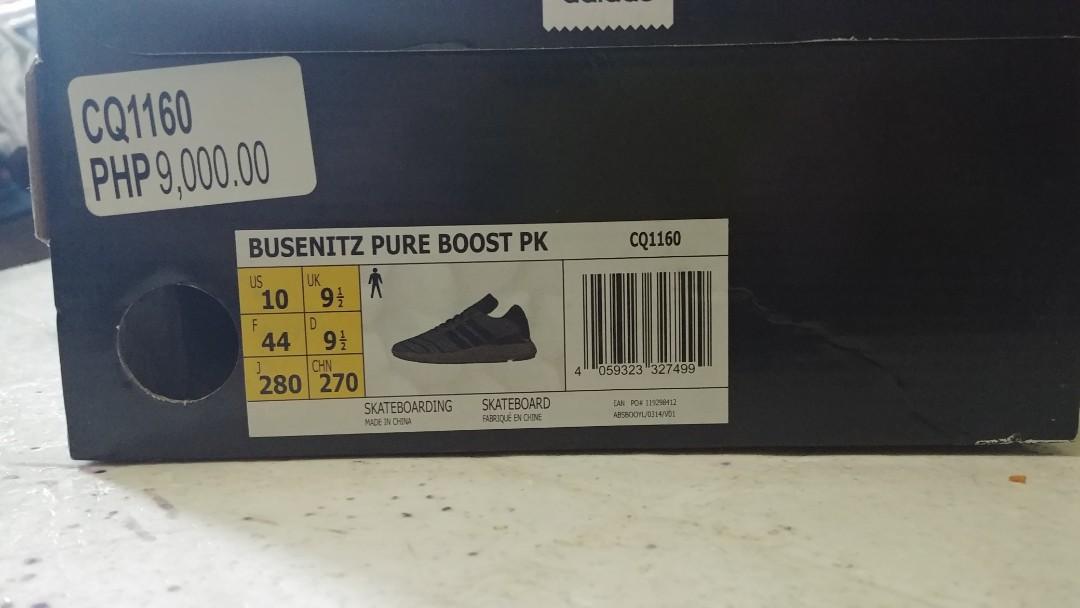 size 40 d6510 01081 Adidas Busenitz Pureboost Primeknit, Mens Fashion, Footwear, Sneakers on  Carousell
