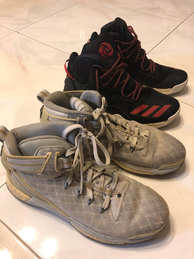 db678d739510 derrick rose shoes 6 and 7 and harden vol 1