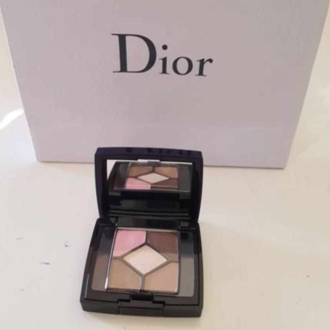 DIOR 5 Couleurs Eyeshadow Palette Rosy Tan #754. Rosy Tan.  2.2g. Deluxe Travel Sample Size.