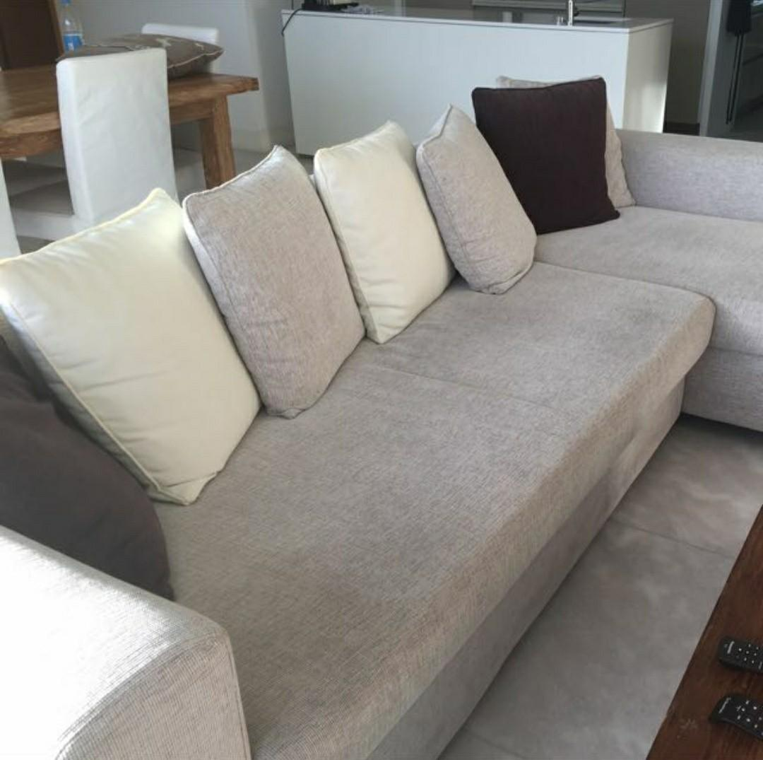 Expat Relocation Sale - 4 Seater Sofa with Footrest ...