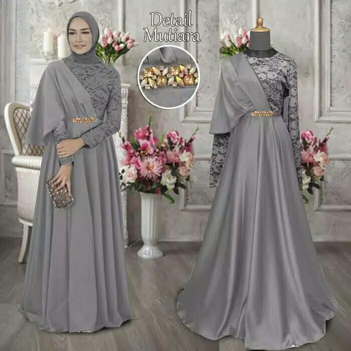 Gaun Pesta Laudya Chintya Bella Women S Fashion Muslim Fashion