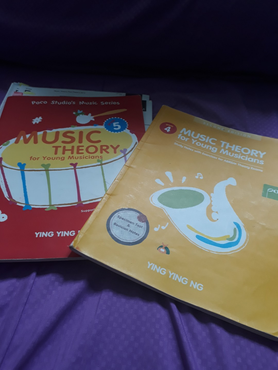 grade 4 and 5 theory book and music theory past papers answers