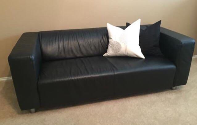Awesome Ikea Klippan Sofa Black Leather Sofa Ideas Bralicious Painted Fabric Chair Ideas Braliciousco
