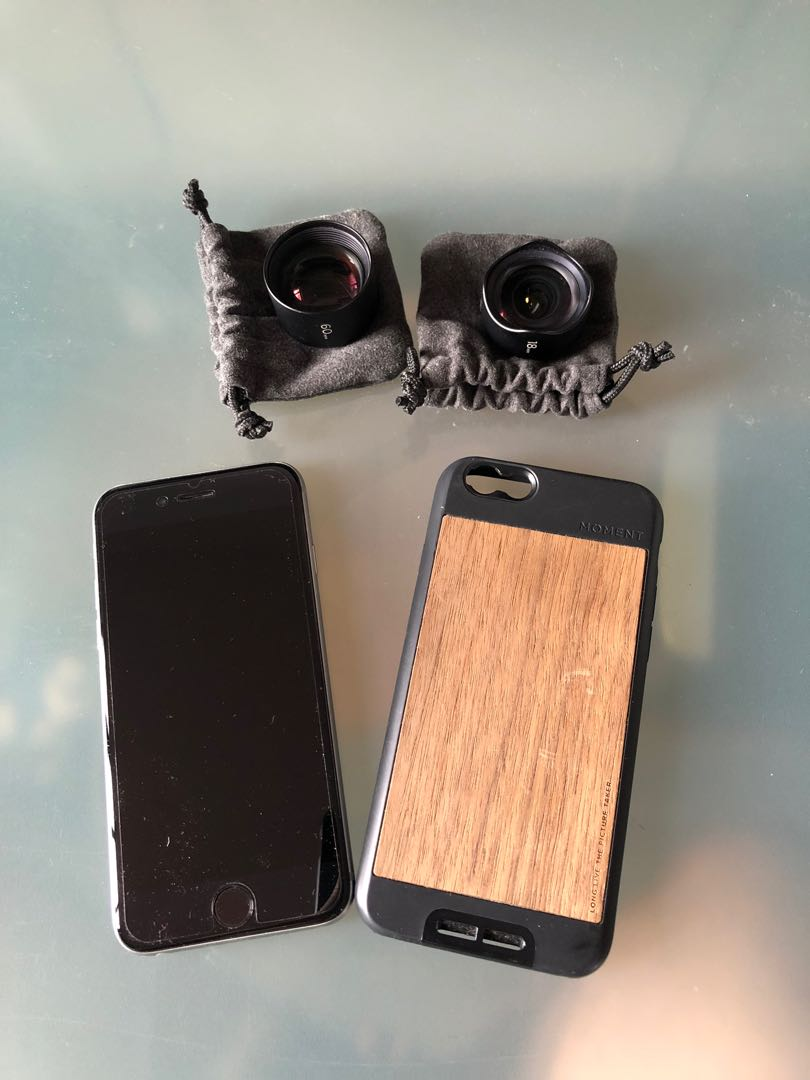 sports shoes c5fa0 f0773 iPhone 6s 64gb with Moment Lenses