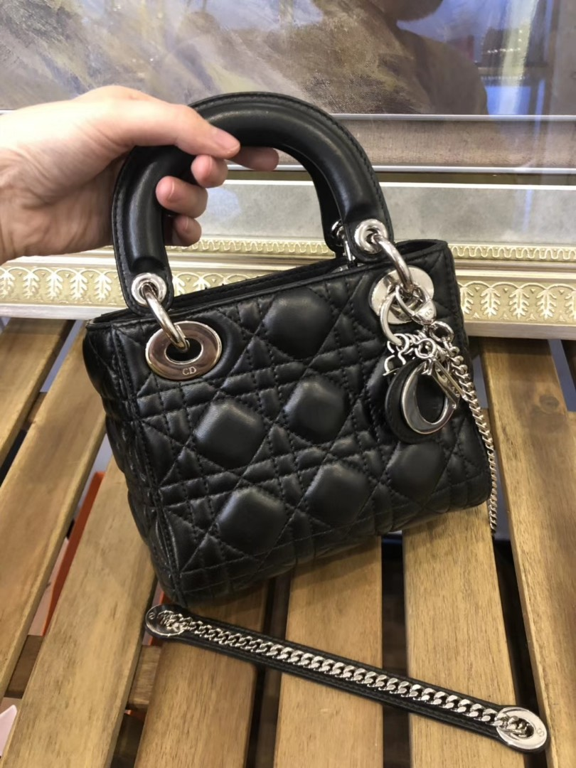 Lady Dior Bag Mini Luxury Bags Wallets Handbags On Carousell