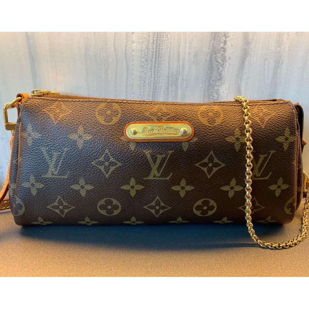 e98c02eeb7e2 Louis Vuitton Vintage Eva Monogram Cross-Body bag - Brown