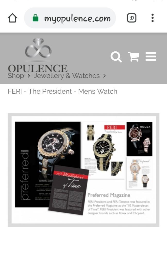 Men Luxury President qatch