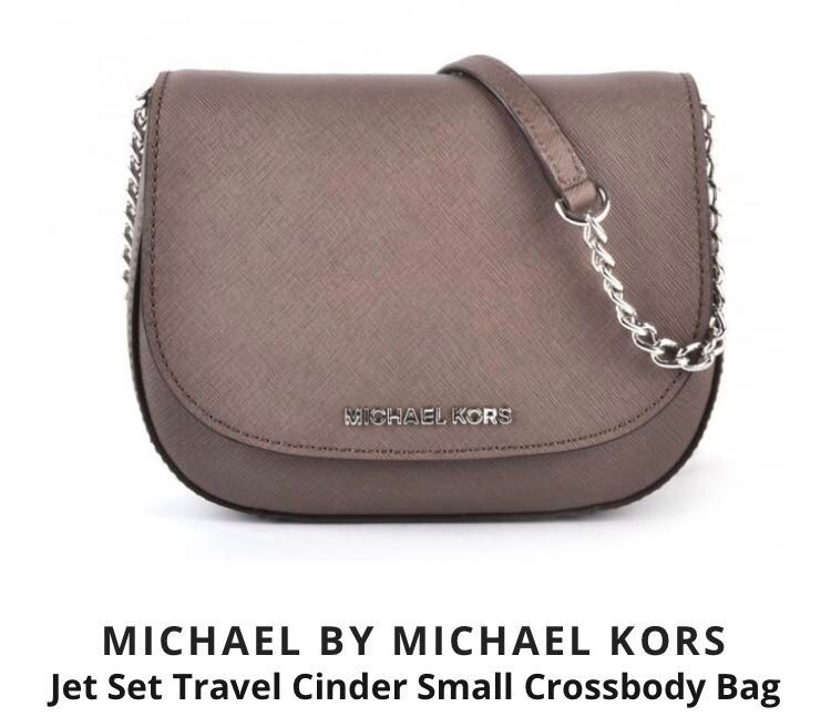 552344fb5 Michael Kors Jet Set Crossbody Sling Bag Small, Women's Fashion ...