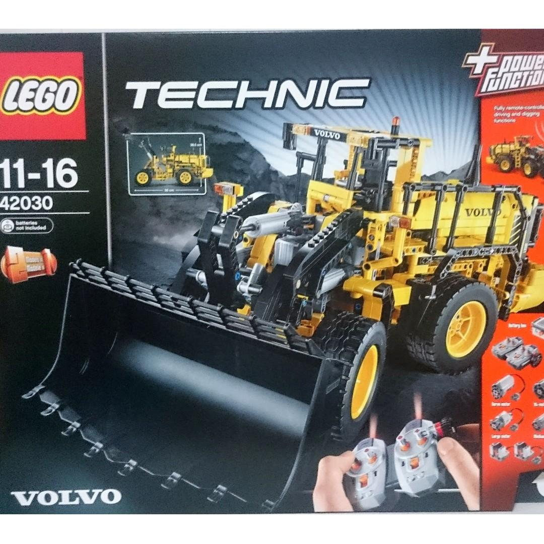 Super MISB Lego 42030 Technic Remote-Controlled VOLVO L350F Wheel Loader TT-65
