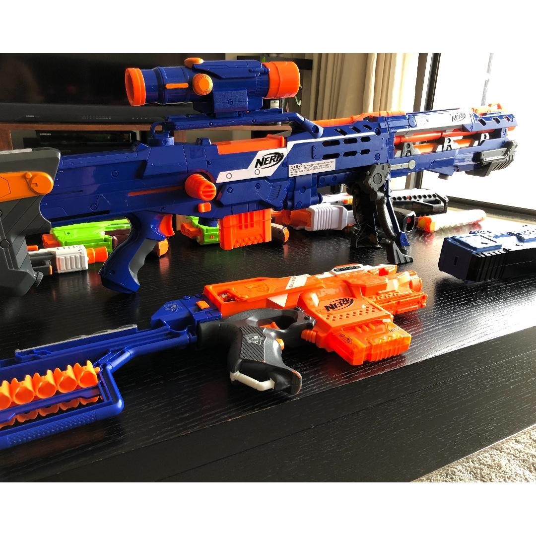 Nerf Guns - Various Model, Toys & Games, Others on Carousell