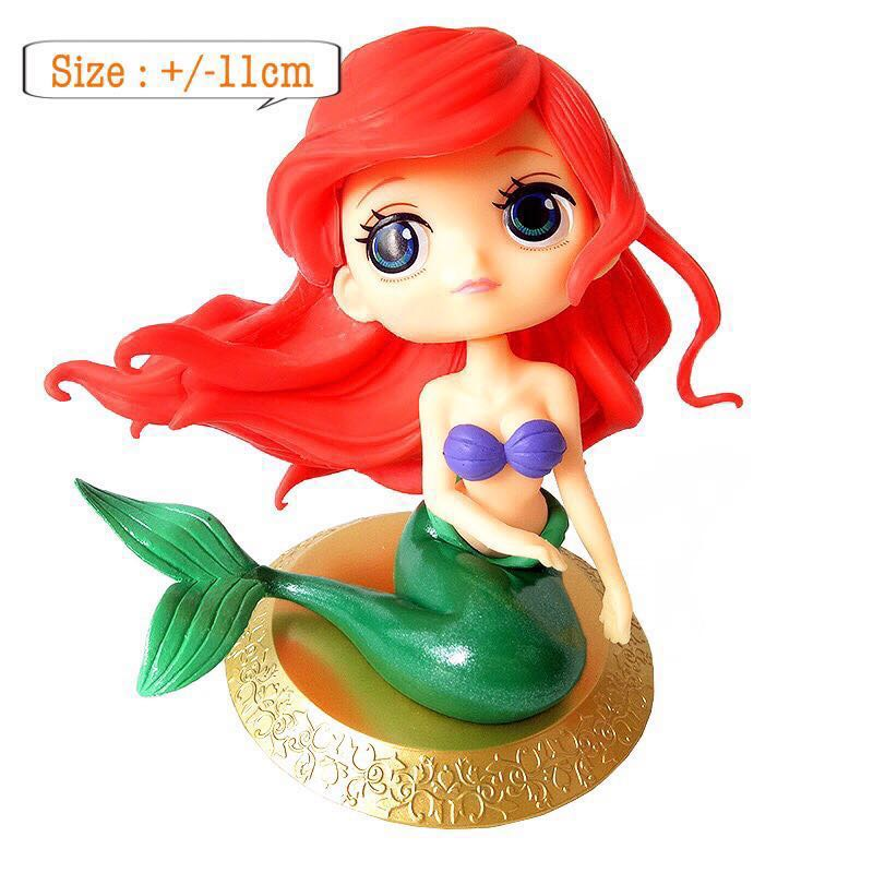 New princess mermaid topper cake decorations figurines toy