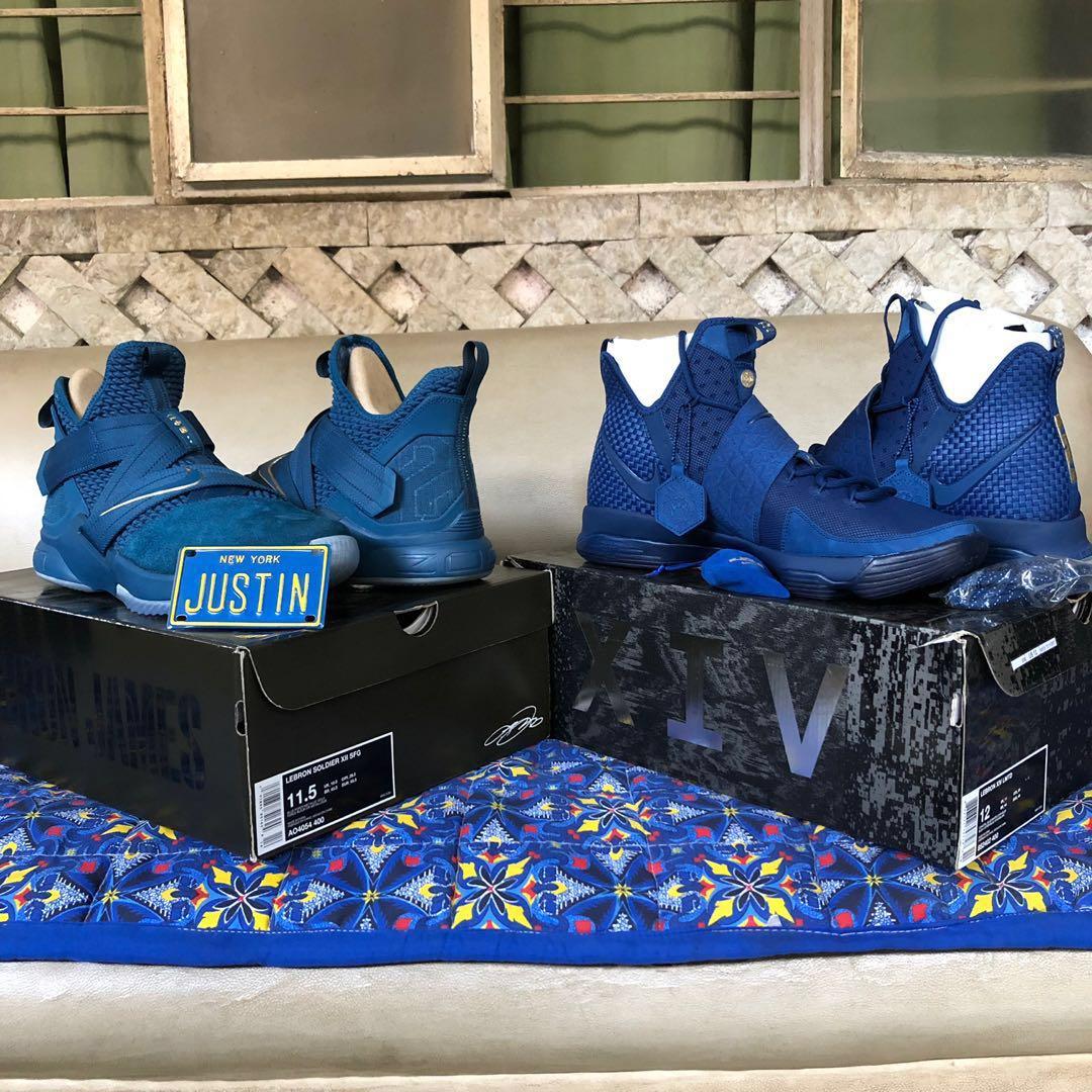 best website 7b17c f0266 Nike Agimat LBJ XIV Sz 12 on Carousell