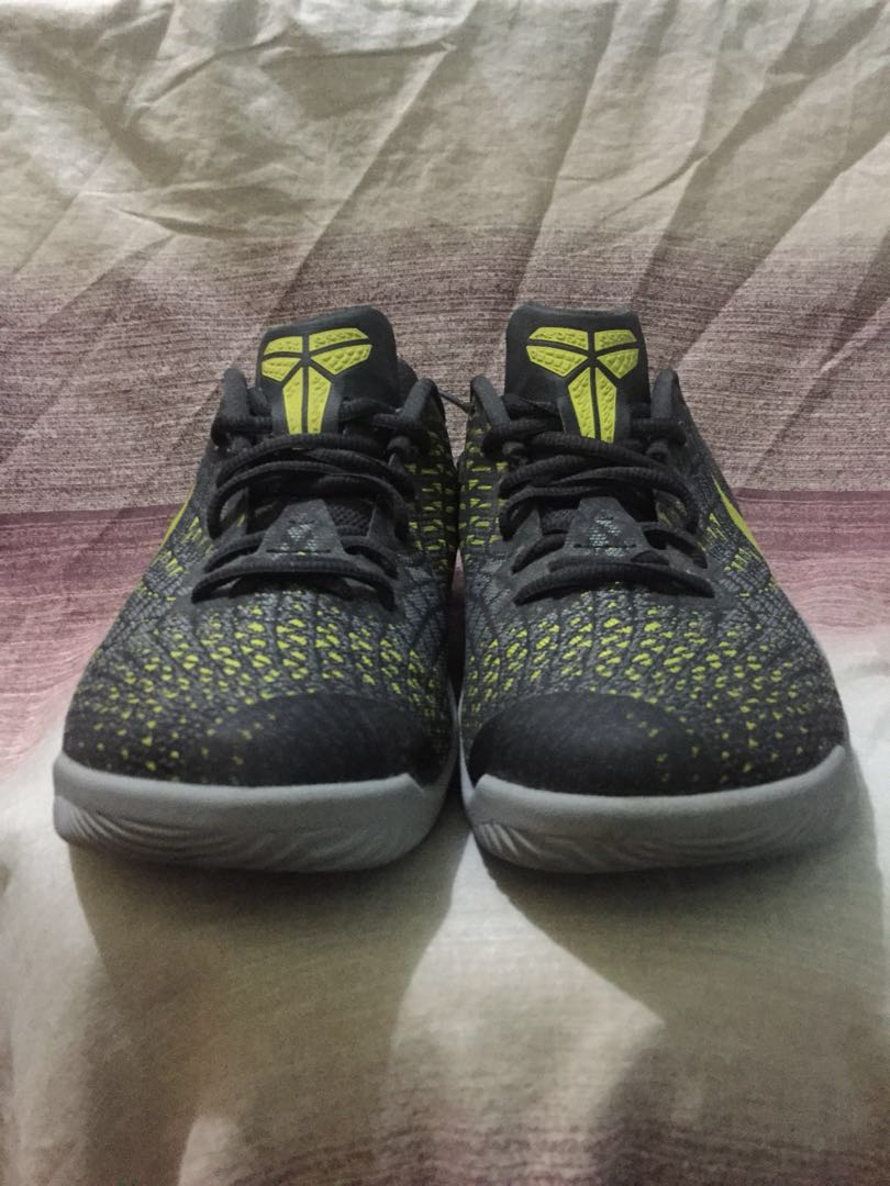 "0ba91f8d438c Nike Kobe Mamba Instinct ""Dark Grey  Dynamic Yellow ..."