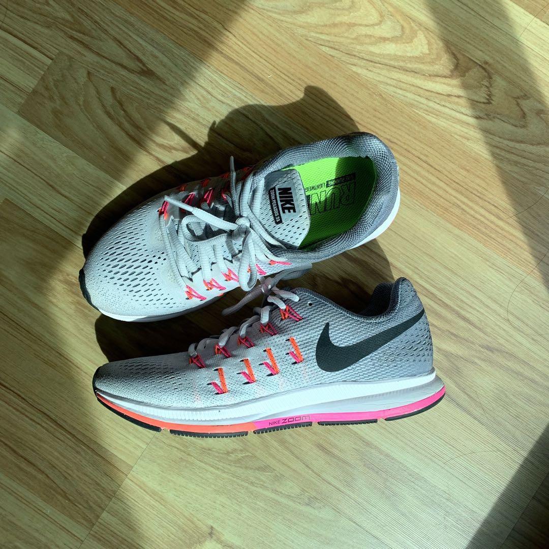 fb6ac8cef386a Nike Women s Air Zoom Pegasus 33 Running Shoes US8