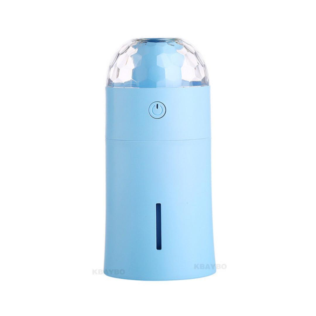 Portable/Car Aroma Diffuser Essential Oil with LED Light 175ml (Belia)