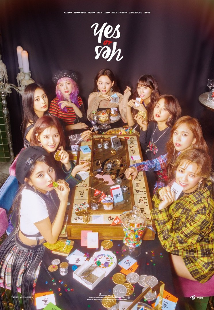 Twice Yes Or Yes Twicemedia: [POSTER]TWICE YES OR YES POSTER, K-Wave On Carousell