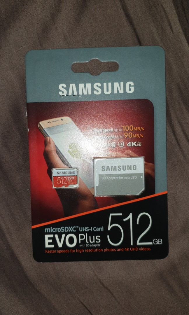 Brand New Sealed Samsung 512gb Micro Sd Card With 10 Years Limited