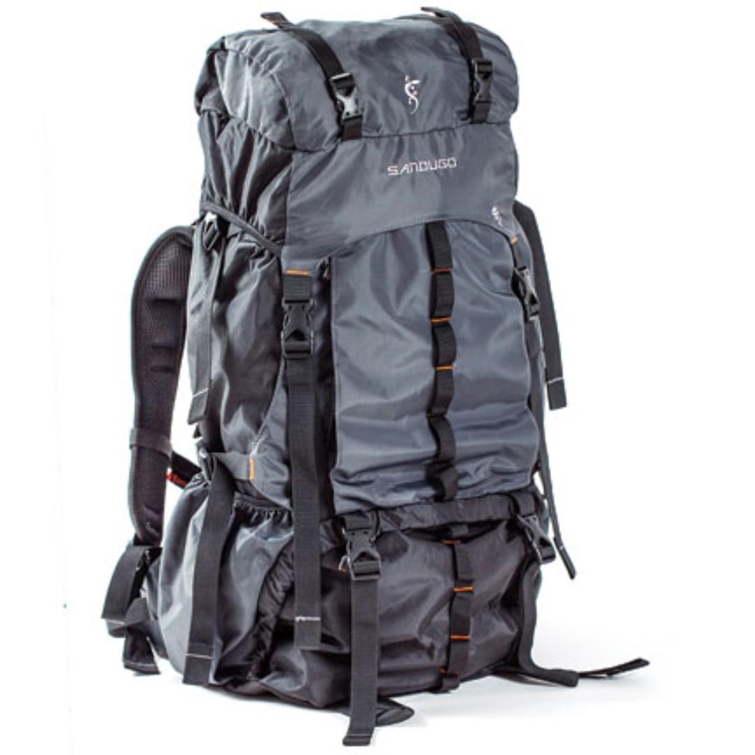e91ae91841 Sandugo Mckinley Hiking Backpack Bag 60L, Men's Fashion, Bags & Wallets,  Backpacks on Carousell