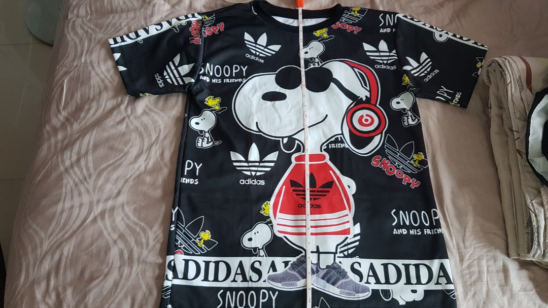 Snoopy adidas cute top and bottom 23843c7b9c