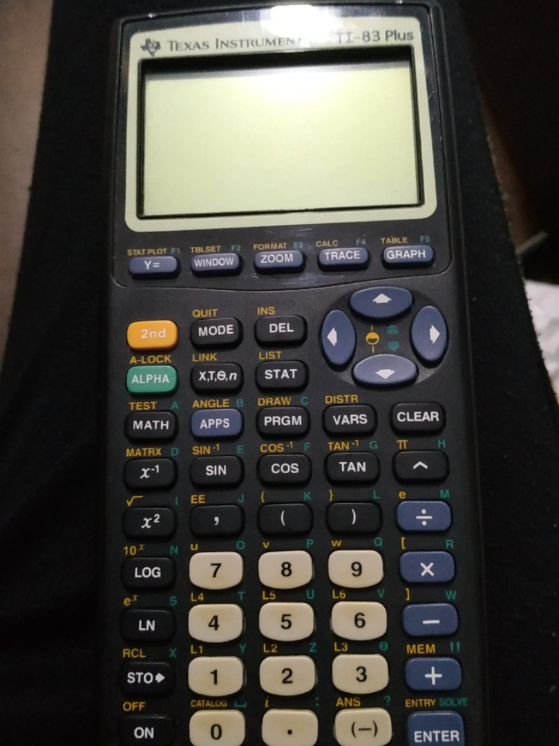 T1 83 Plus Graphic Calculator Electronics Others On Carousell