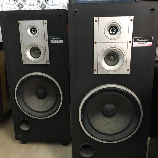 Technics Sb-2450 8ohms speakers