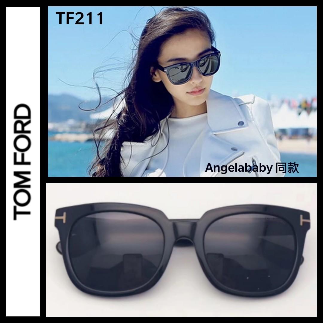2de83ec3ac7f Tom Ford TF211 black acetate sunglasses