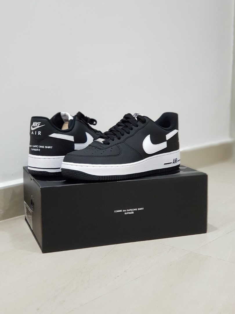 1 X Cdg Air Force Us9 Nike Supreme PkiuXOZT