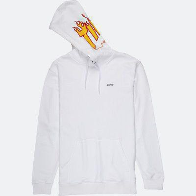 e0fb2797a1 Vans x thrasher white hoodie size M (LAST PRICE DROP)