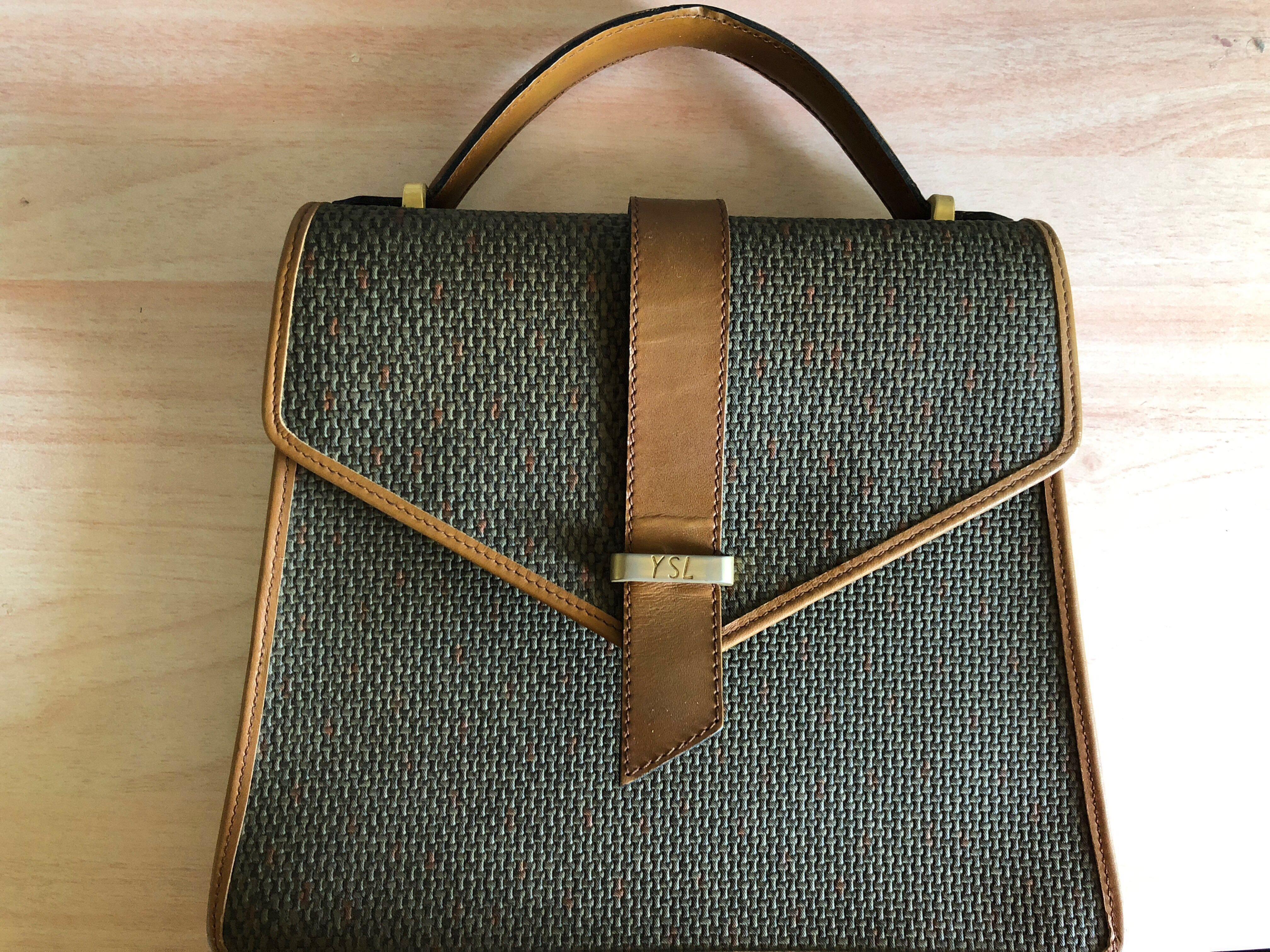 Vintage Ysl Bag Satchel Small Next30 Women S Fashion Bags