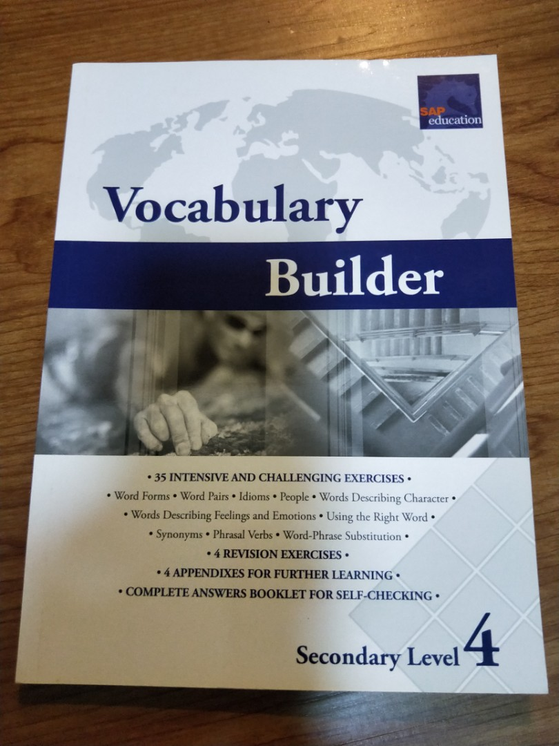 Vocabulary Builder Sec 4