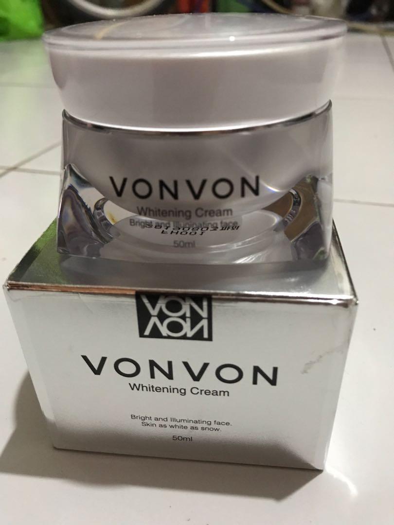 Vonvon Whitening Cream Korea, Health & Beauty, Skin, Bath, & Body on Carousell