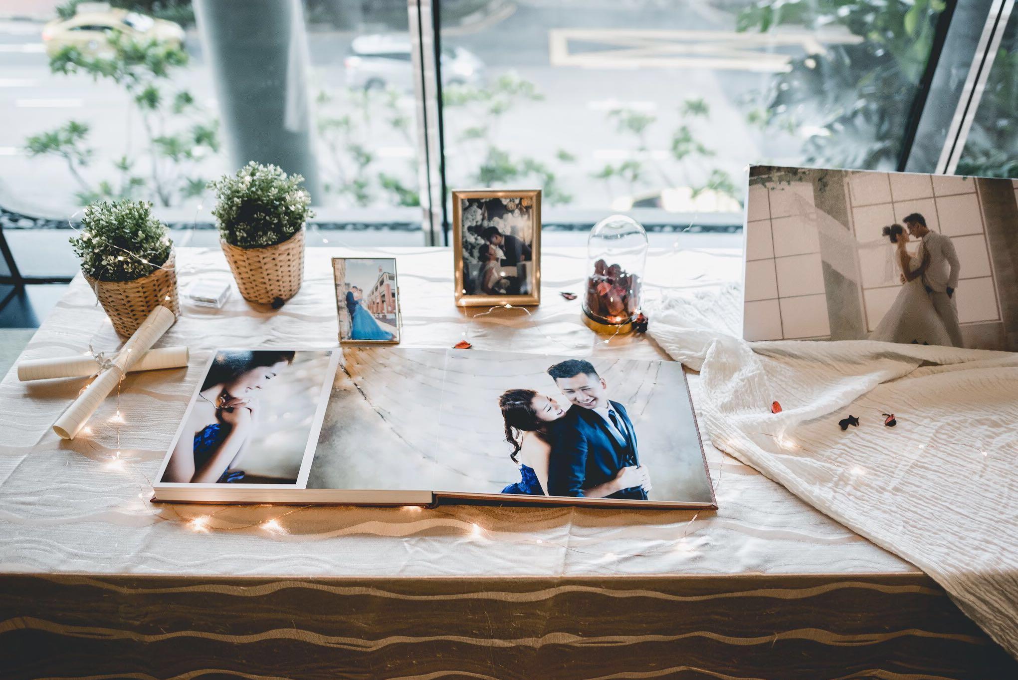 Wedding Reception Album Table Decoration Rental Lifestyle