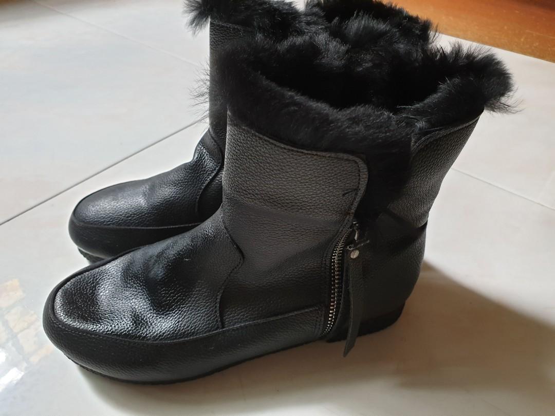 aba05c266b32 Winter Boots-black colour
