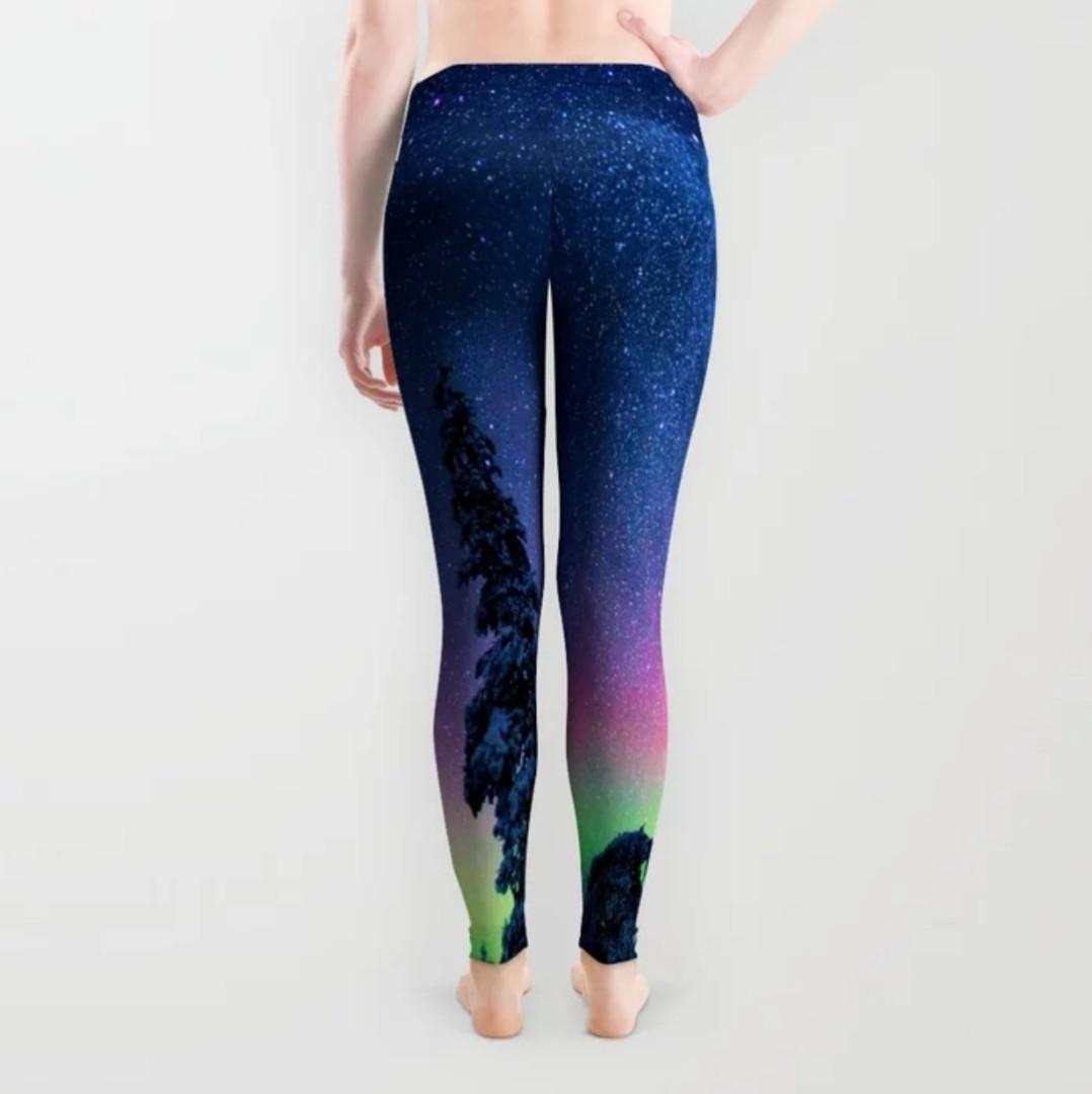 1c0f2172d949c XS to XL) Aurora Yoga Leggings Pants Tights - Workout Running ...