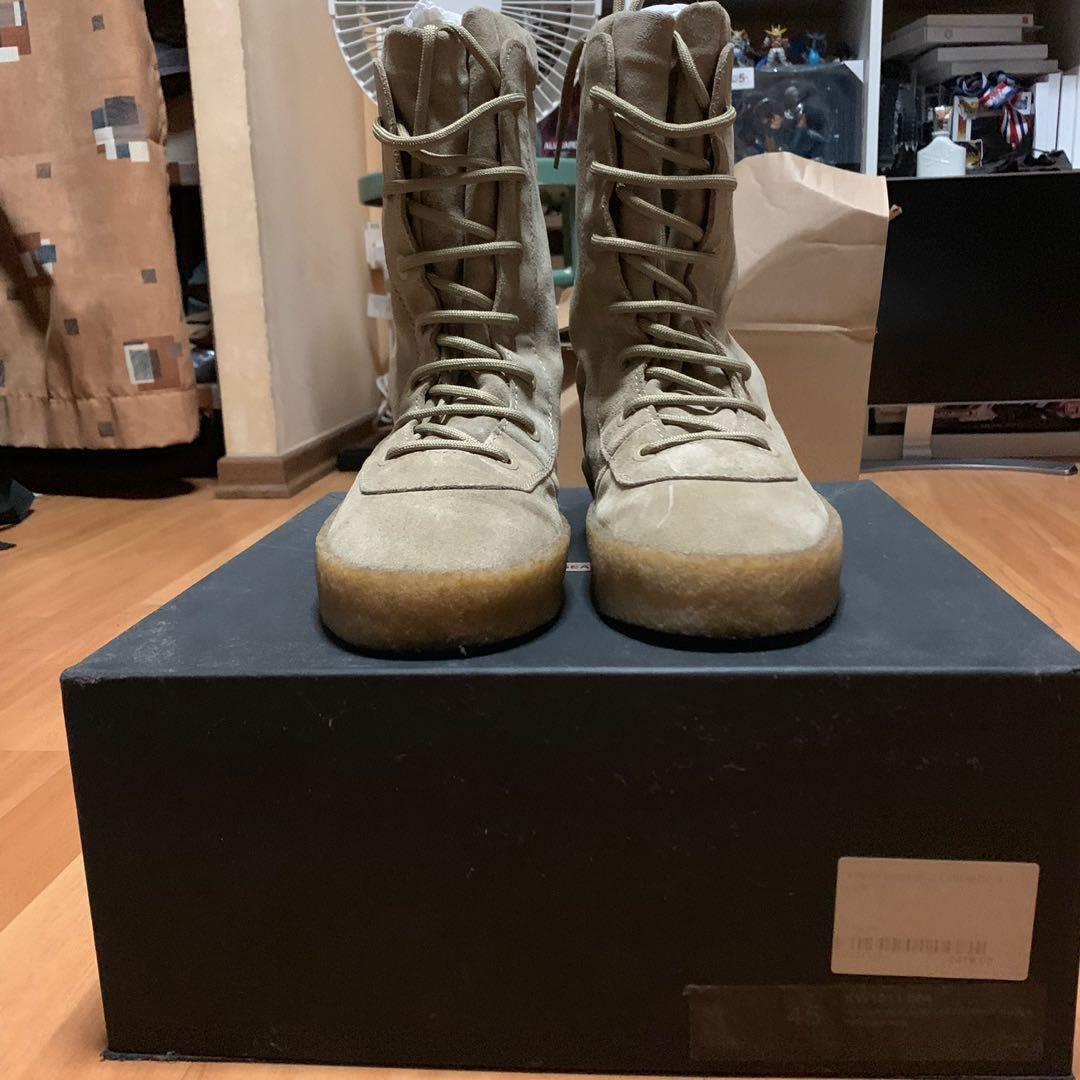 d11deda5d0ac5 Yeezy Season 2 Military Crepe Boots
