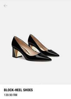 ZARA Block-Heels Shoe