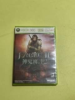 Xbox 360 game Fable II 神鬼寓言2