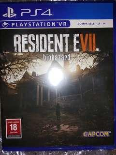 BD PS4 Resident Evil 7