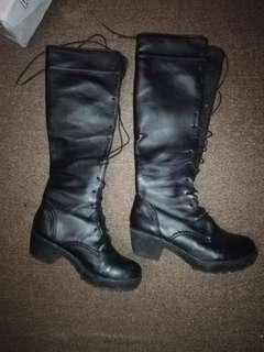 Cosplay Long Boots (Leather)