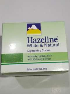 Hazeline White & Natural