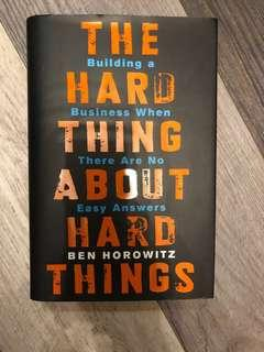 《The Hard Thing About Hard Things》#sellfaster