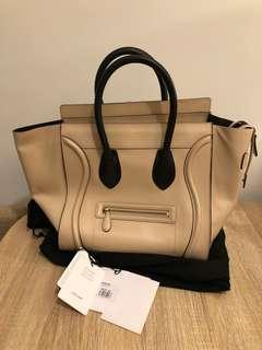 Celine Micro Luggage 90%new 100%real