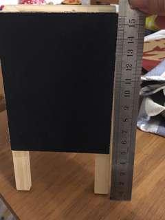 日本小黑板白板兩用展示架