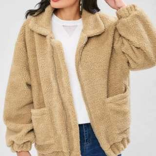 Zaful Teddy Jacket