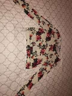Vintage cropped long sleeve ✨