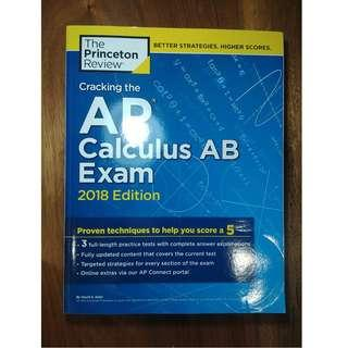 The Princeton Review AP Calculus AB 2018