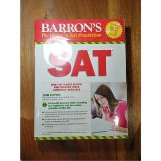 Barron's SAT 2018