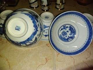 景德鎮陶瓷碗 (1套5隻)