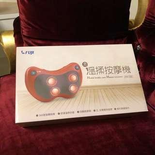 🚚 全新品 FUJI 富士 溫揉按摩機 加熱按摩機 按摩器(紅)