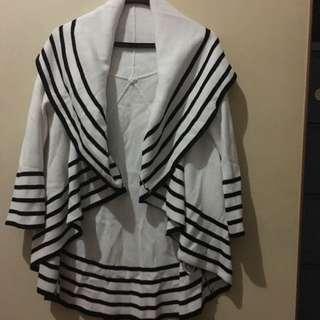Cotton Knit Bohemian Style Cardigan